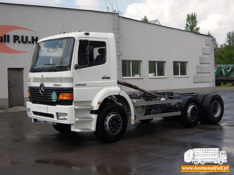 kamion za smeće MERCEDES-BENZ Atego 2528
