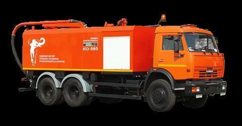 kombinovano vozilo za čišćenje kanalizacije KAMAZ KO-560