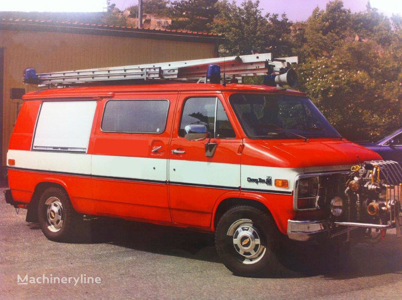 vatrogasno vozilo Chevrolet Van G-30