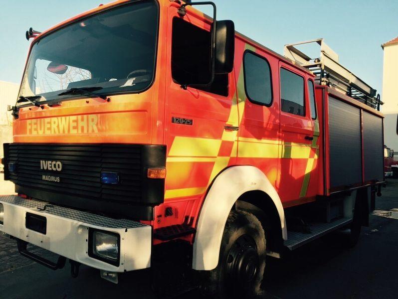 vatrogasno vozilo IVECO HLF Typ 120-25 4x4