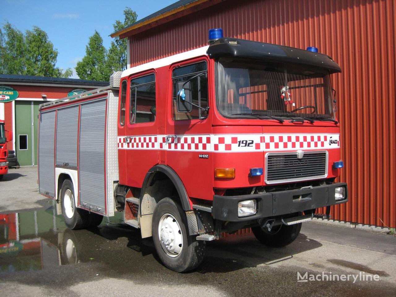 vatrogasno vozilo MAN 14-192, 4x4 WD