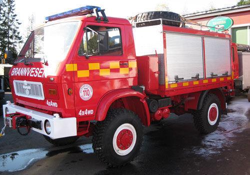 vatrogasno vozilo MAN 8.150, 4x4 WD