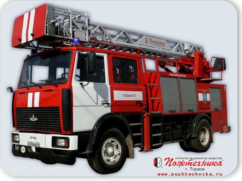 vatrogasno vozilo MAZ APS(L)-1,25-0,8 Avtomobil pozharno-spasatelnyy s lestnicey
