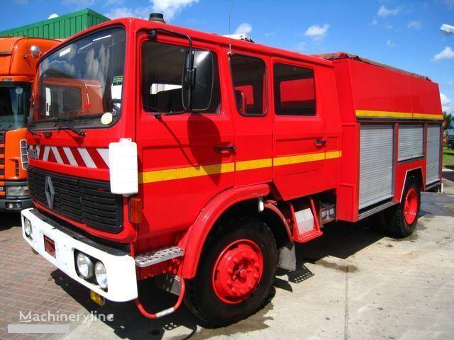 vatrogasno vozilo RENAULT G-191 11 PLACE WATER PUMP