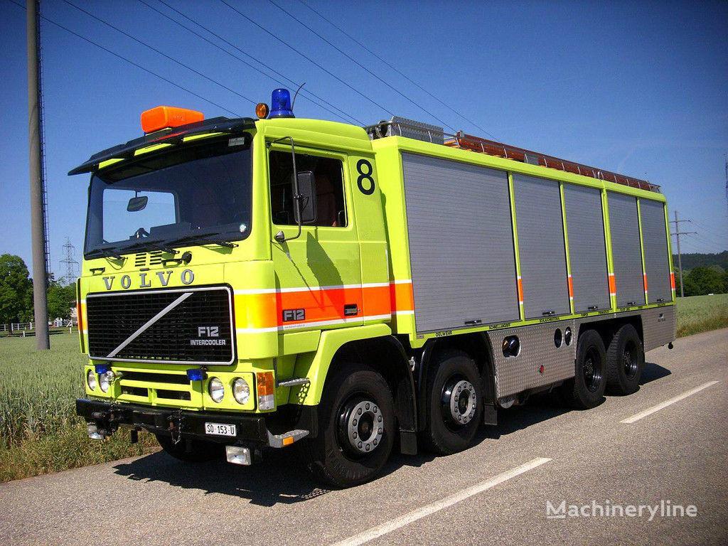 VOLVO F12 Feuerwehr  vatrogasno vozilo