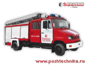 vatrogasno vozilo ZIL AC-1,0-4/400