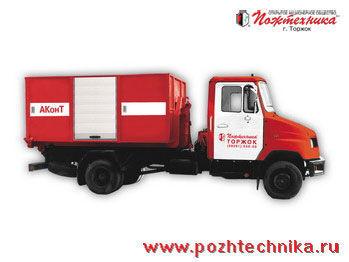 vatrogasno vozilo ZIL AKonT Avtomobil konteynernogo tipa