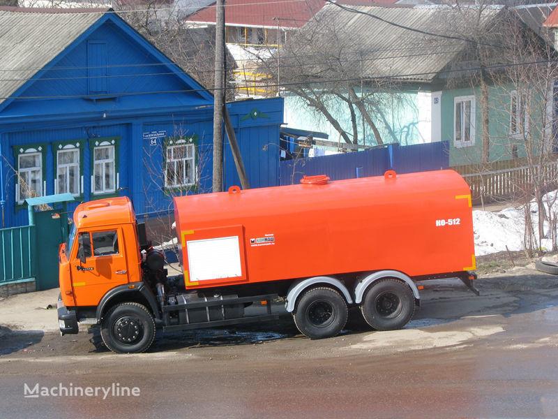 vozilo za čišćenje kanalizacije KAMAZ Kanalopromyvochnaya mashina KO-512