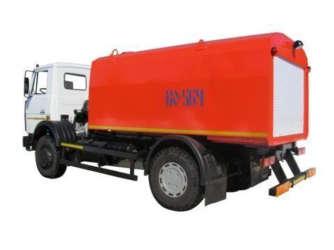 vozilo za čišćenje kanalizacije MAZ KO-564-30