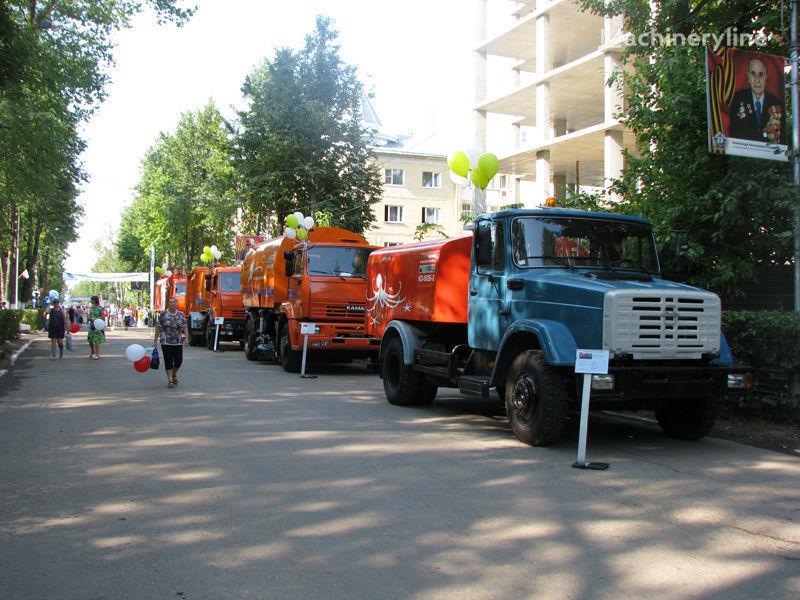 vozilo za čišćenje kanalizacije ZIL Kanalopromyvochnaya mashina KO-502D