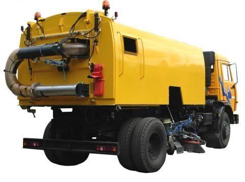 vozilo za čišćenje ulica KAMAZ KO-326-10