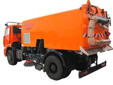 vozilo za čišćenje ulica KAMAZ KO-326-11