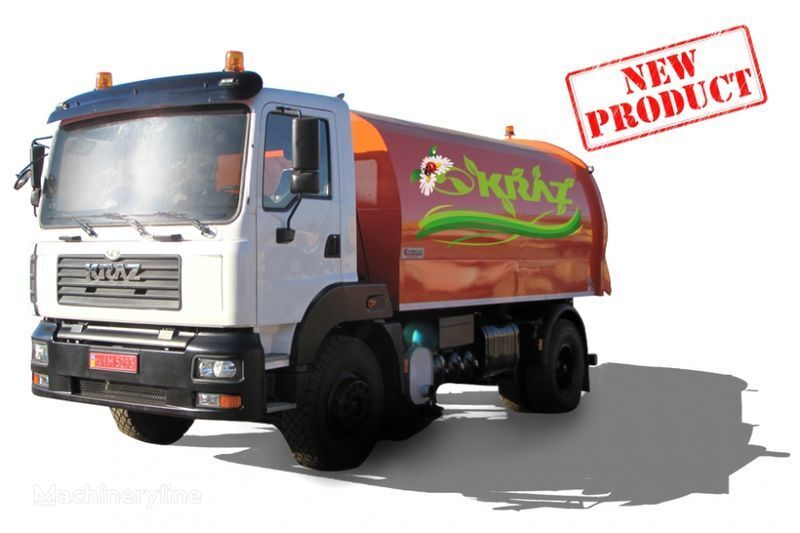 vozilo za čišćenje ulica KRAZ 5401K2-020 Vakuumnyy podmetalno-uborochnyy avtomobil