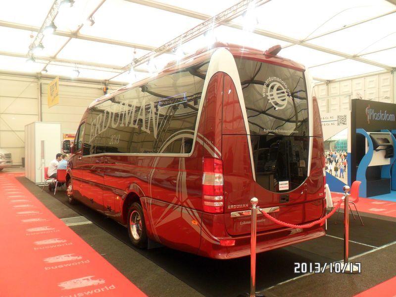 novi putnički minibus MERCEDES-BENZ SPRINTER LUXUS - ERDUMAN