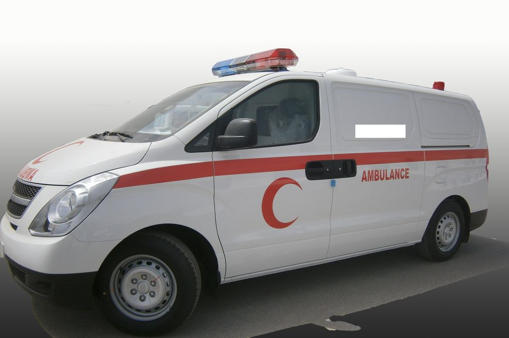 novo vozilo hitne pomoci HYUNDAI H1 Petrol