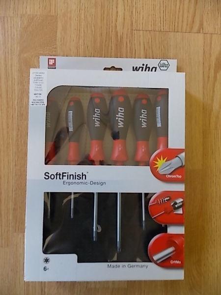 alat za autoservis WIHA 07155 Zestaw wkrętaków SoftFinish TORX 6cz