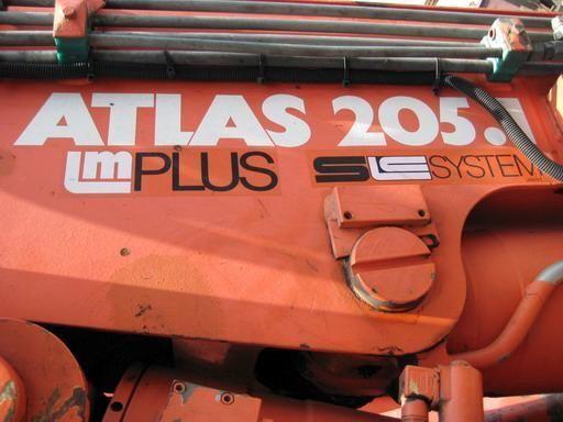 autodizalica s kranom ATLAS 205.1 (Geramaniya)