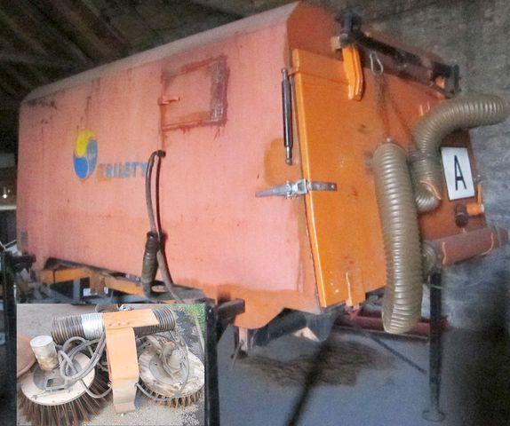 četkica 3.5 m3 zametač nástavba Trilety MKV (hydraulic