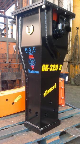 novi hidraulični čekić ITALDEM GK 320S