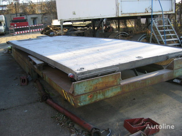 karoserija s ravnom platformom IVECO Eurocargo 80