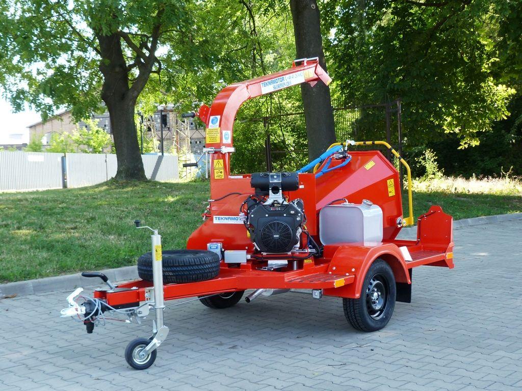 nova drobilica za drvo TEKNAMOTOR Skorpion 120 S