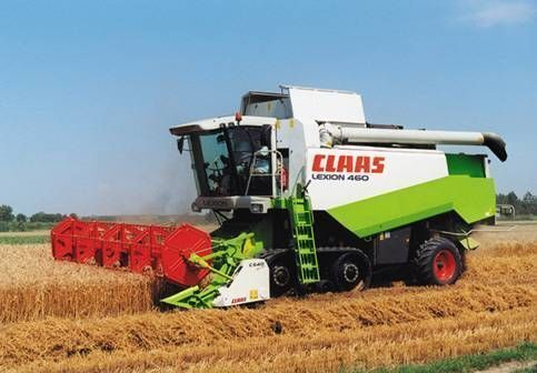 kombajn CLAAS LEXION 460 EVOLUTION