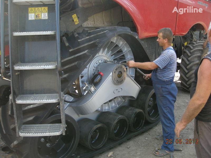 novi kombajn CLAAS rezinovye gusenicy dlya kombaynov i traktorov.
