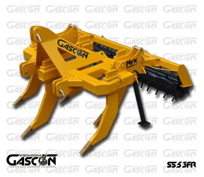 novi podrivač GASCON  Glubokoryhlitel Gascon SS-5-3FR (150-210 l.s.)