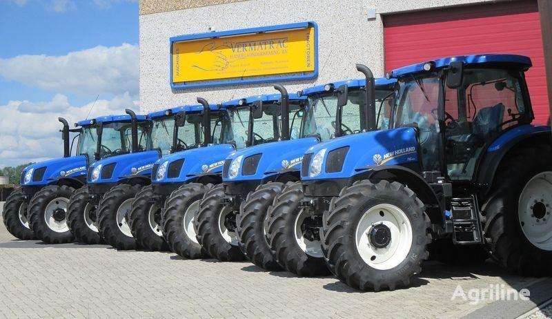 novi traktor točkaš NEW HOLLAND T6.140 AEC, air, front suspensoin!