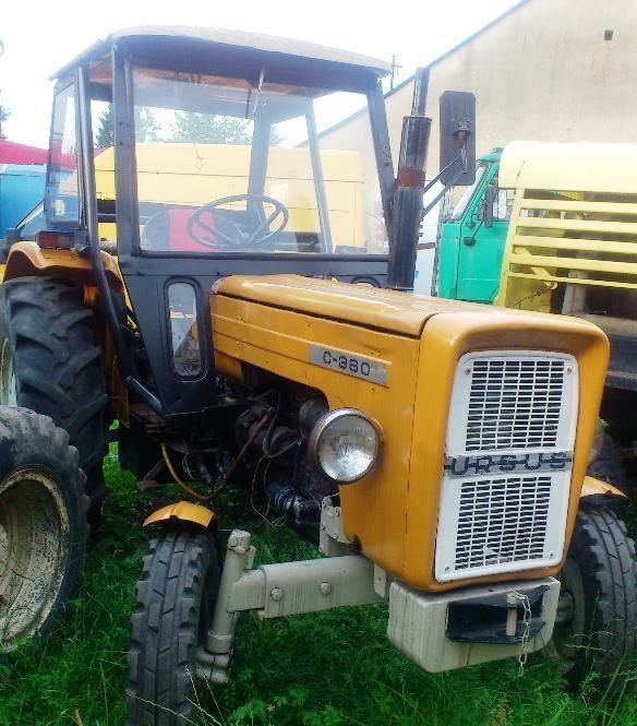 traktor točkaš URSUS C-360