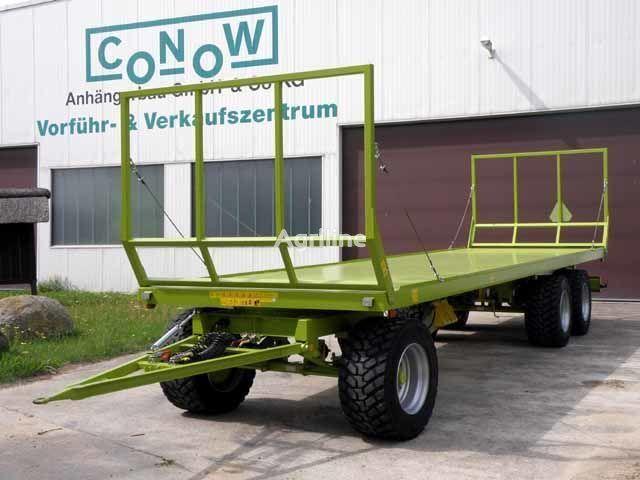 nova traktorska prikolica CONOW Ballentransportwagen