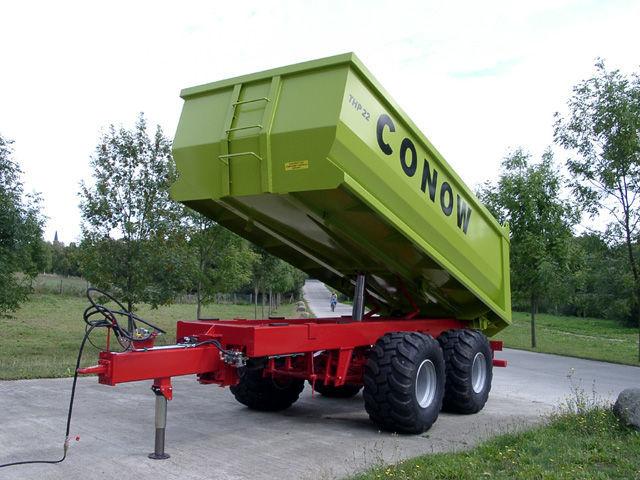 nova traktorska prikolica CONOW THP 22