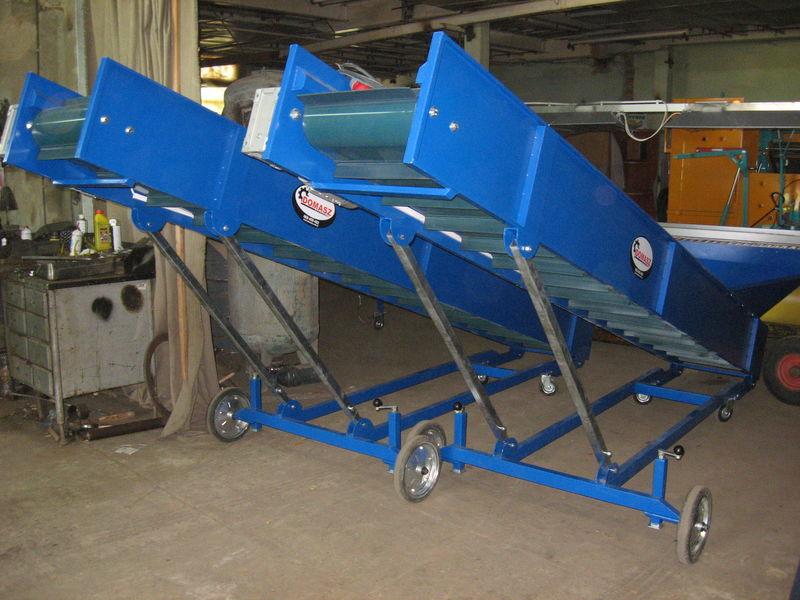 novi prijemni bunker transporter (konveyer) - 4m
