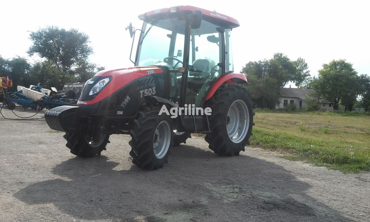 novi TYM T  503 traktor točkaš