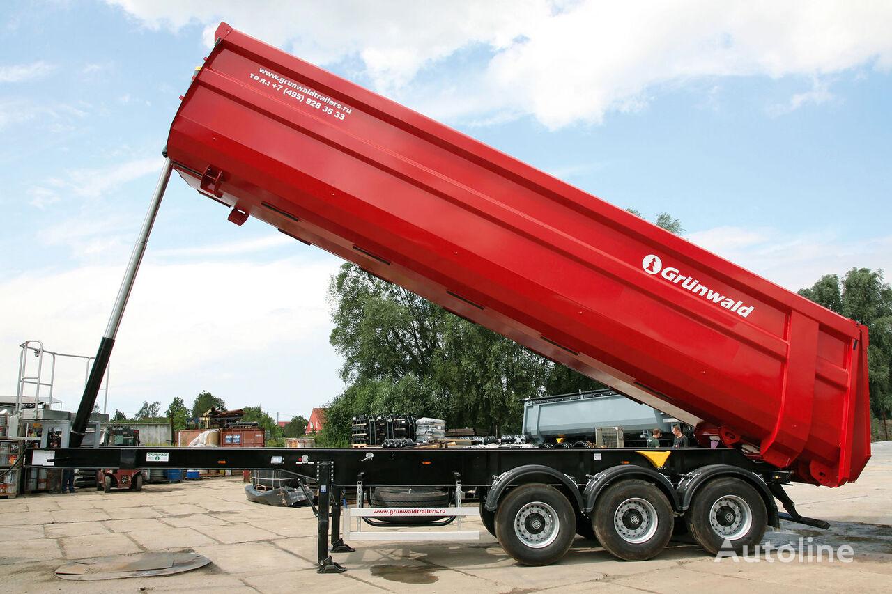 nova poluprikolica kipera GRUNWALD Tipper semitrailer 50 cbm