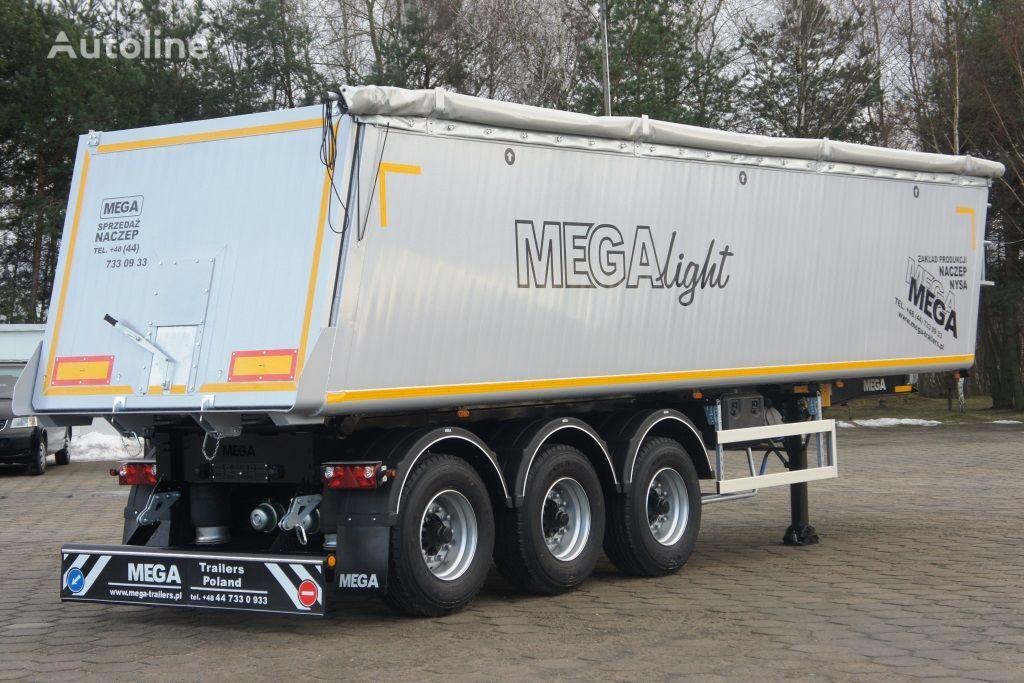 nova poluprikolica kipera MEGA 42 - 35 m³ - aluminum tipper