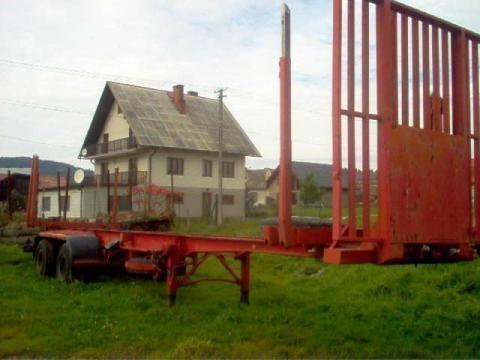 poluprikolica za prevoz drva IWTHL SCHLUTUP FS 4020