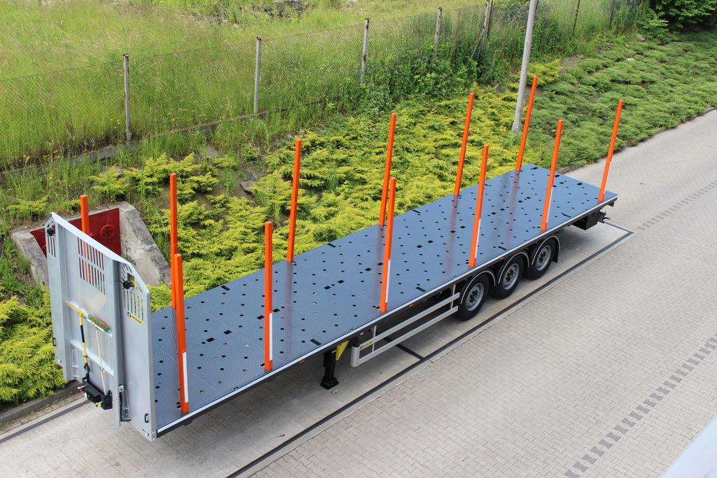 nova poluprikolica za prevoz drva ZASLAW TRAILIS 651.NL.13.PK[without stakes]