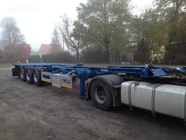 poluprikolica za prevoz kontejnera 20FT,2 X 20FT,30FT,40FT,