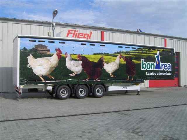 nova poluprikolica za prevoz ptica FLIEGL SDS 350 Geflugel