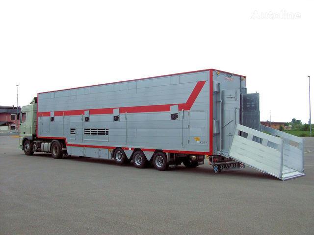 nova poluprikolica za prevoz stoke PEZZAIOLI SBA31 1+2