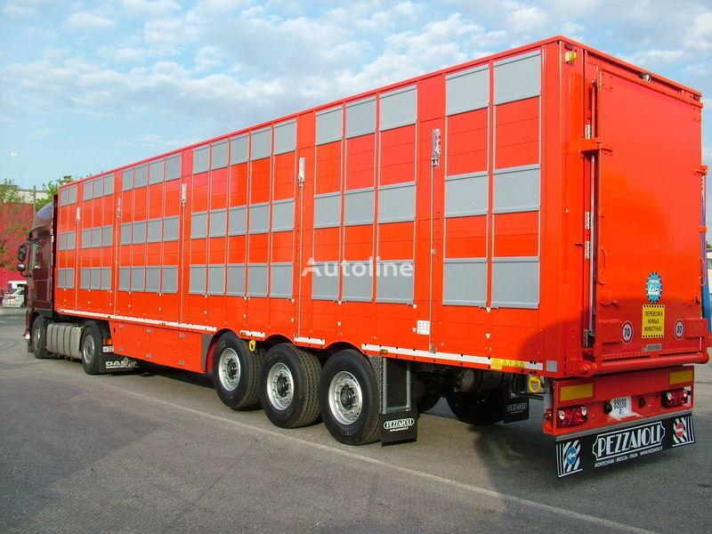 nova poluprikolica za prevoz stoke PEZZAIOLI SBA63 3 etazha zagruzki