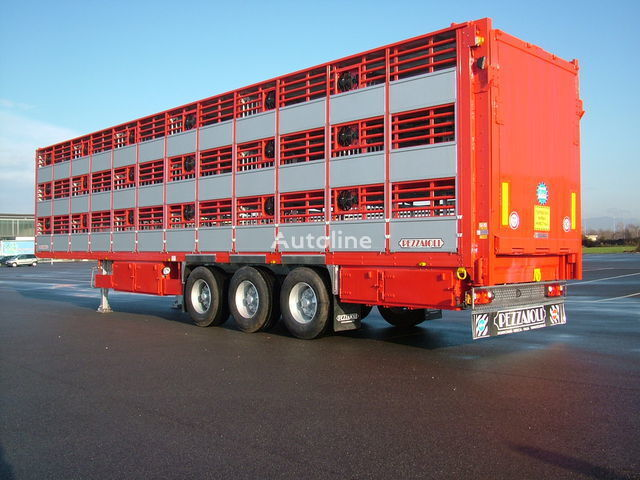 nova poluprikolica za prevoz stoke PEZZAIOLI SBA63