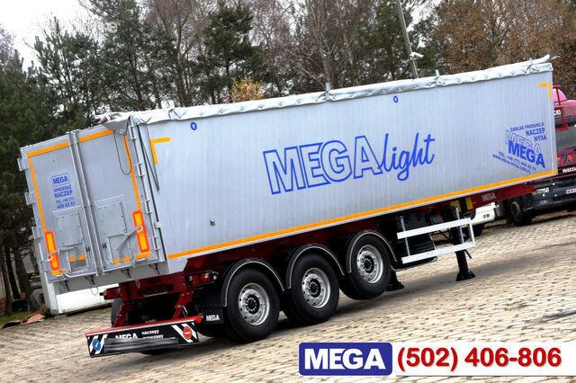 nova poluprikolica za prevoz zrna KARGOMIL 42 - 45 m³ Alubox - ULTRA - light only 5,800 kg weight ! READY T