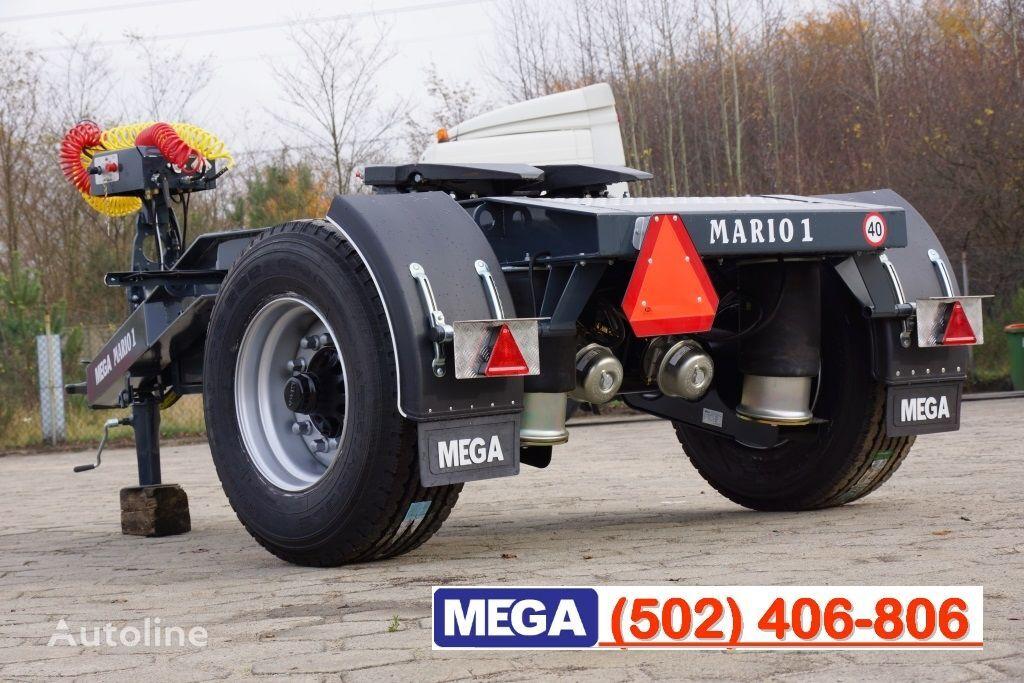 nova prikolica dolly MEGA 1 Achse Dolly fur Kipper / Hydraulik Pumpe / FERTIG