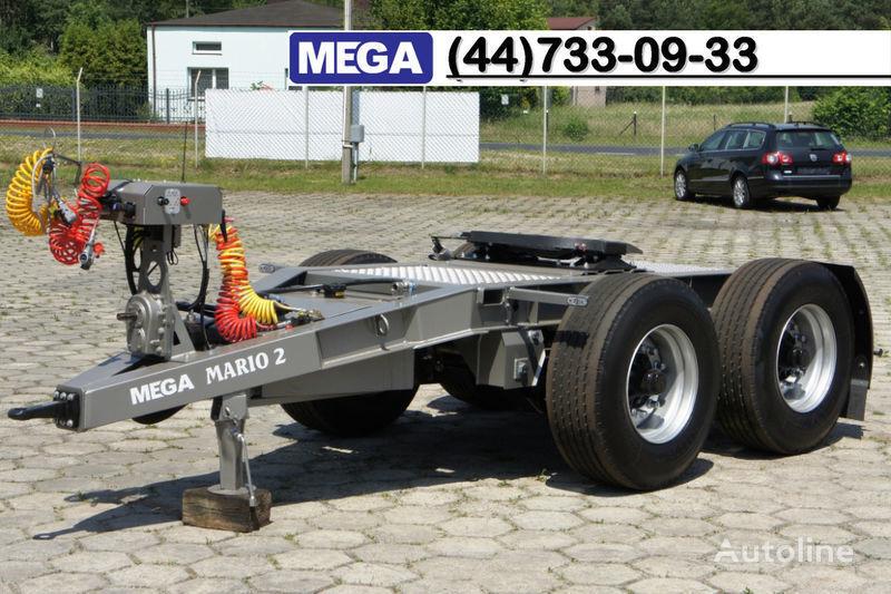 nova prikolica dolly MEGA 2015 SALE !!! 2 Achsen Dolly fur Kipper mit Hydraulik - BEREIT !