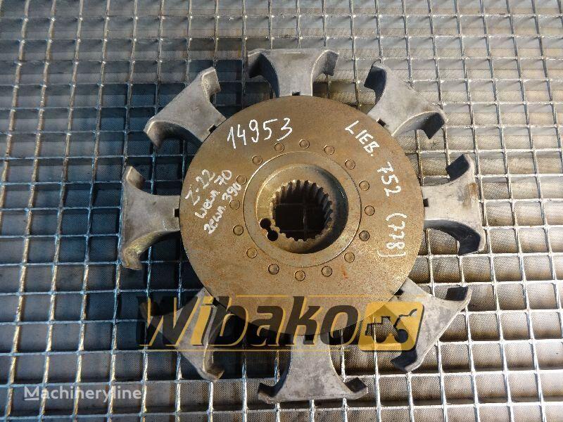 disk kvačila  Coupling Liebherr 752 za druge građevinske opreme 752 (22/70/390)