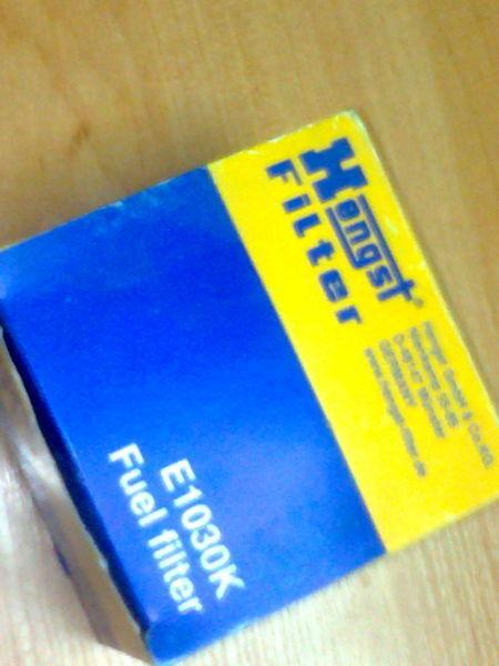 novi filter za gorivo  Hengst E1030K za tegljača MERCEDES-BENZ Actros