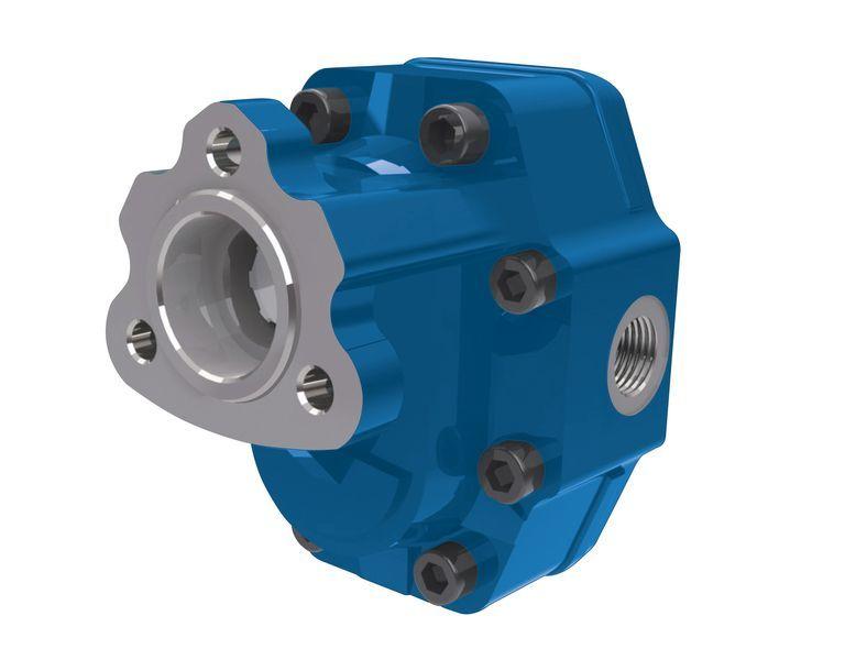 novi hidraulična pumpa Vinnotto Italiya UNI 82l/na 3 bolta dlya tyagacha.Gidravlicheskie kom za kamiona