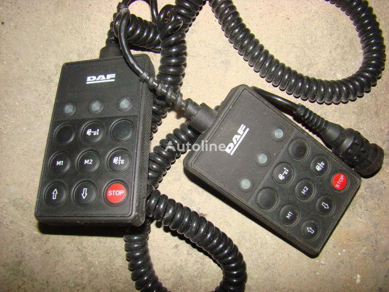 instrument tabla  DAF 105XF remote control ECAS 1337230; 4460561290, 1657854, 1659760, 1669461, 1686733, 1690391, 1732019, 1780197, 1780200, 1792640, 1848360, 1851259, 1851261, 1851747, 1898313, 1898316, 1898317 za tegljača DAF 105XF